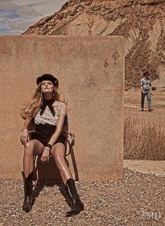 Duelo Al Sol in Vogue Spain with Kate Grigorieva wearing Valentino,Chanel,Valentino Garavani - (ID:14538) - Fashion Editorial | Magazines | The FMD #lovefmd