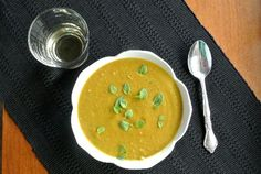 Split Pea Soup is so delicious.  I think I will have to add this to my cook again and again list.