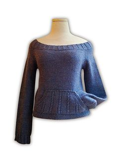 Ravelry: Wicked pattern by Rachel Bishop...This pattern includes instructions for short sleeves, 1/2 sleeves, long sleeves and for adding a pocket.