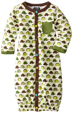 Mud Pie BabyBoys Newborn Dino Convertible Sleep Gown Multi 36 Months ** See this great product. (This is an affiliate link) #BabyBoySleepwearRobes