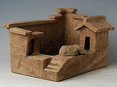 han dynasty ceramics pottery houses - Google Search