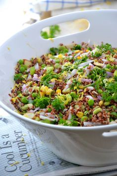 Salad Recipe Idea: Spring Fiesta Quinoa Salad