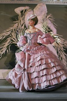 A Christian Dior Gown-brought to you by http://dedeannasimplepleasures.blogspot.com/