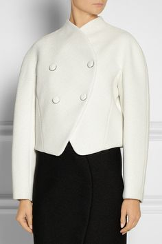 Proenza Schouler   Double-breasted bouclé jacket