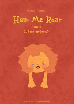 Game of Thrones for kids (House Lannister) by Haley Hao
