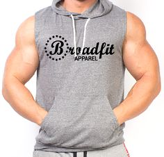 Broadfit Apparel Tri-Blend Sleeveless Hoodie