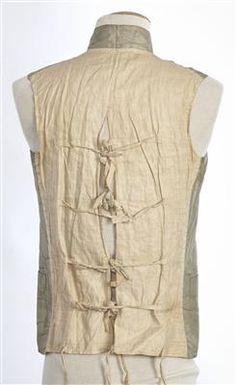 Waistcoat (image 3) | Spain | 1785-1800 | silk | Textilteca CDMT | Museum #: 11659 18th Century Dress, 18th Century Fashion, Historical Costume, Historical Clothing, British Marine, Men's Waistcoat, Fashion History, Costume Design, Inspiration