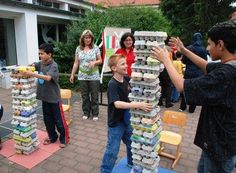 Fun Team Building Activities for Adults and Kids Teen Party Games, Holiday Party Games, Sleepover Party, Team Building Activities For Adults, Team Building Games, Activities For Kids, Picnic Games, Youth Group Games, Sleepover Activities