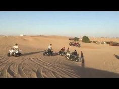 The only time a person becomes a perfect meanderer is when he or she is on a quad bike safari in Dubai. Quad bikes in Dubai are a toast to every adventurer's. Desert Safari Dubai, Quad Bike, Deserts, World, Youtube, Quad, Desserts, Dessert, Postres