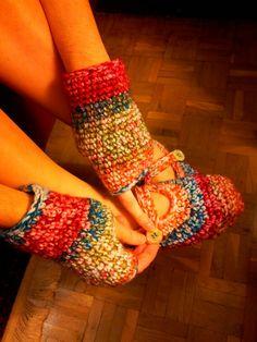 Mitones y zapatillas para un invierno confortable
