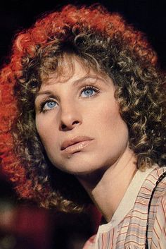 Barbra Streisand in 'A Star is Born'.
