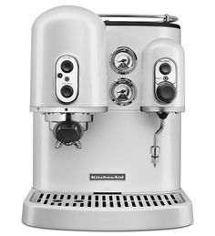 Shop KitchenAid® Pro Line® Espresso Maker with Dual Independent Boilers and more from Sur La Table! Espresso At Home, Coffee And Espresso Maker, Coffee Shop, Coffee Maker, Cappuccino Coffee, Espresso Machine Reviews, Best Espresso Machine, Cappuccino Machine, Kitchenaid Pro