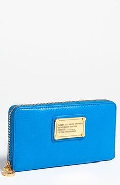 MARC BY MARC JACOBS Classic Q - Vertical Zippy Wallet | Nordstrom