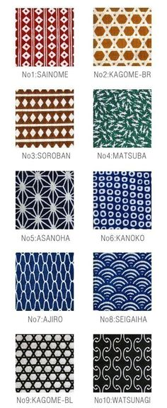 Japanese Tenugui Fabric from karaku at Etsy