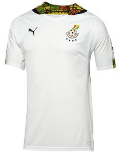 Nice Day Sports: New Black Stars Ghana Home and Away Jersey Shirt  ...