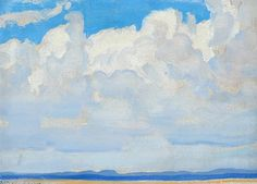 Maynard Dixon: Clouds, New Mexico, 1931