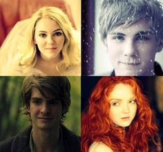 "the big four in ""real life"" Rapunzel, Jack Frost, hiccup, Merida.....YESS, THIS IS SO PERFECT"
