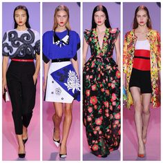 My first four from Andrew Gn #pfw