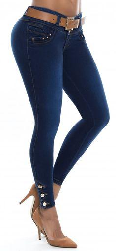 Jeans levanta cola ENE2 93387 Jeans Denim, Jeans Skinny, Jeans Pants, Jean Sexy, Bermuda Jeans, Best Jeans, Online Dress Shopping, Girls Jeans, Fashion Outfits