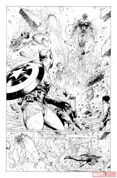 Avengers: Rage of Ultron preview art by Jerome Opena
