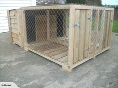 AMAZEN TWIN KENNEL AND ROOFED RUN | Trade Me