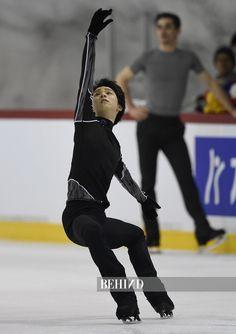 Yuzuru Hanyu Helsinki 2017 practice