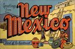 Greetings from New Mexico, Land of Enchantment