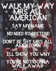 5SOS lyrics // Mrs All American❤️