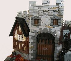 LEGO Castle MOC: The Forbidden Castle #Lego #LegoModular #LegoBuild #legobuilding #MOC #MOCs #legoCastle #Castle