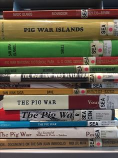 Pig War, Sea Pig, Magic Island, Cover, Books, San Juan, Libros, Book, Book Illustrations