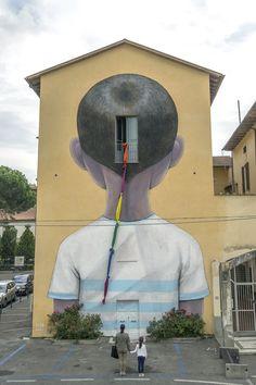 Italy street art Arezzo wall art I murales di Seth nelle città del mondo - Il Post