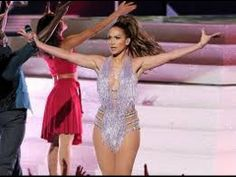 Jennifer Lopez - Celia Cruz Tribute live American Music Awards 2013 AMA AMAZING! El sabor latino!