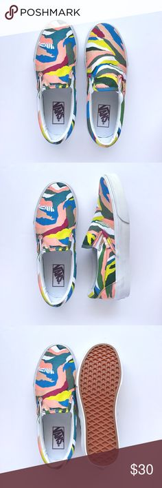 New Abstract Horizon Slip-On Never been worn 1cc79c851