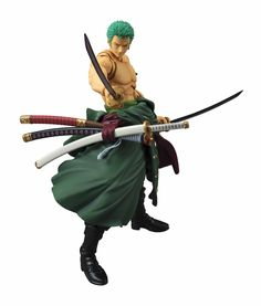 Roronoa Zoro (One Piece) Variable Action Heroes Actionfigur 18cm Megahouse