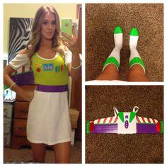 DIY buzz lightyear costume. Halloween 2014  Buzzlightyear space ranger