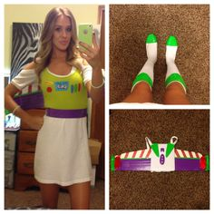 DIY buzz lightyear costume. Halloween 2014  Buzzlightyear space ranger