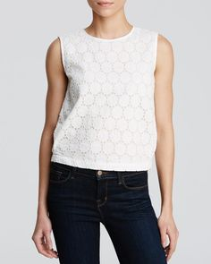 Theory Top - Kimika May Eyelet