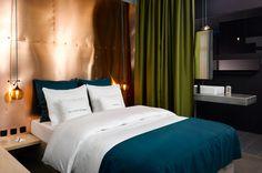 Zimmer im 25hours Hotel Bikibi Berlin, Dopplezimmer #25hourshotel #bikiniberlin