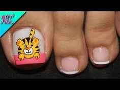Toe Nails, Pedicure, Youtube, Nail Design, Toenails Painted, Pretty Toe Nails, Toe Nail Art, Feet Nails, Toenails