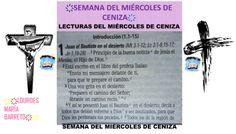 DESDE MI BIBLIA, LECTURAS DE LA BIBLIA, 40 DÍAS DE AYUNO Y ORACIÓN. SEMANA DEL MIÉRCOLES DE CENIZA.PRIMERA SEMANA. PARTE 2. ҉҉LOURDES MARÍA BARRETO҉҉