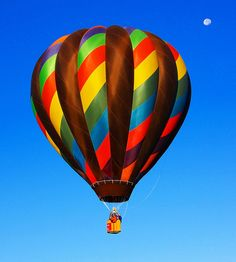 Fly Me to the Moon, by way of a Hot Air Balloon