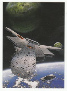 Tim White Fantasy Art Cards # 15 Wandering Worlds - FPG - 1994