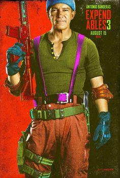 Os Mercenarios 3 Comic Con 2014 poster 13