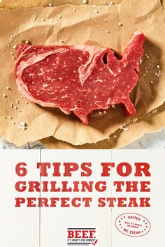 Grilled Steak Recipes, Grilled Meat, Grilling Recipes, Meat Recipes, Dinner Recipes, Recipies, Grilling The Perfect Steak, How To Grill Steak, Beef Dishes