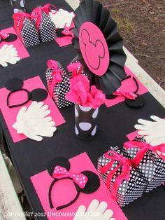 Preciosa Fiesta de Minnie. Ideas de Decoración.