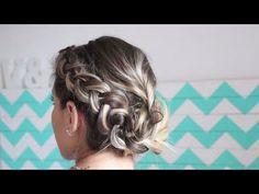 Peinado fácil con trenzas para cabello corto | facilisimo.com