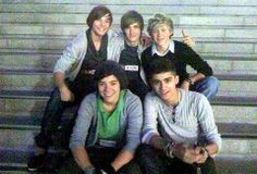 Their first picture together as a band 23.07.2010