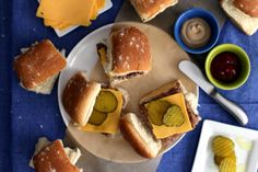 Almost White Castle Hamburgers