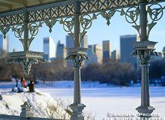 Central Park Gazebo in Winter - http://andrewprokos.com/photos/new-york/