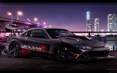 Photos de voiture de sport intéressant Nissan Silvia 2.0 i 16V Turbo